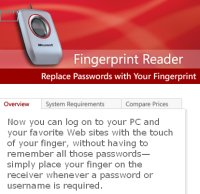 Fingerprint reader small