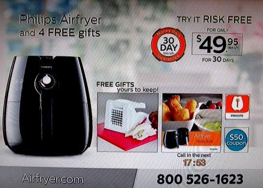 Airfryer TV ad