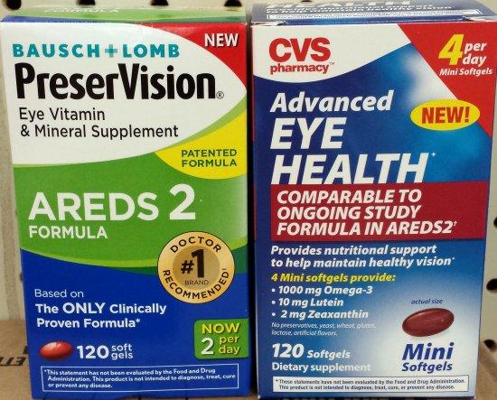 PreserVision vs. CVS