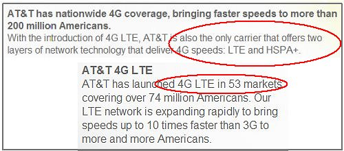 4G AT&T