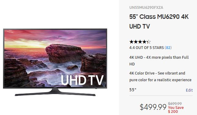 Samsung TV Samsung site
