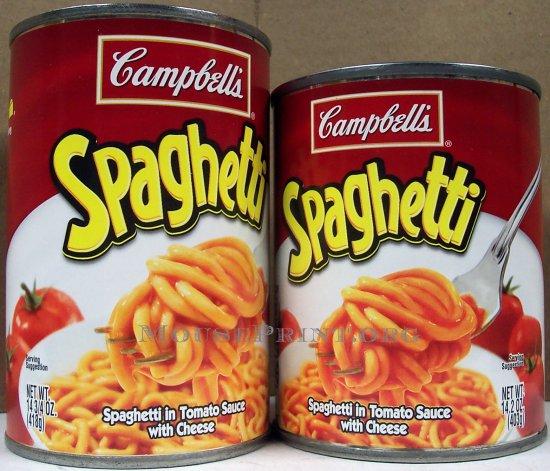 Campbell's Spaghetti
