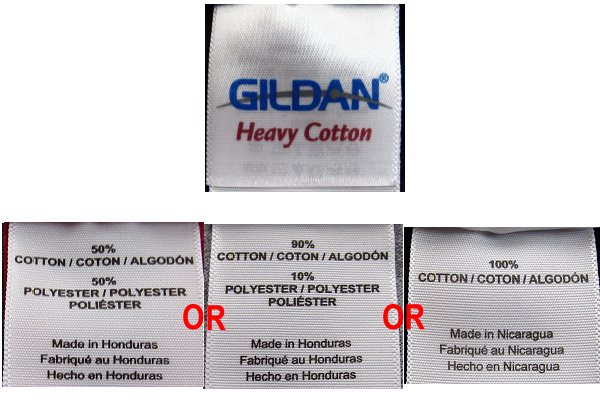 Heavy Cotton variations