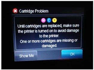 HP error