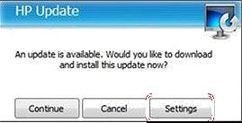HP update