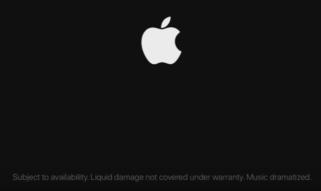 iPhone disclaimer