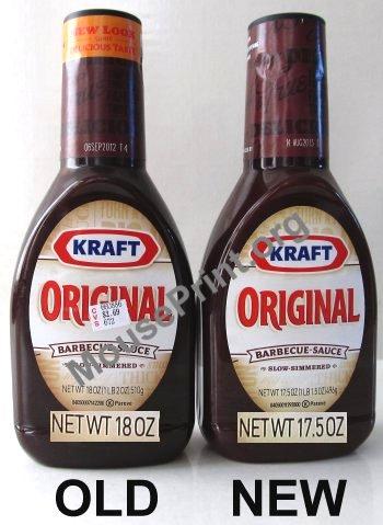 Kraft BBQ sauce