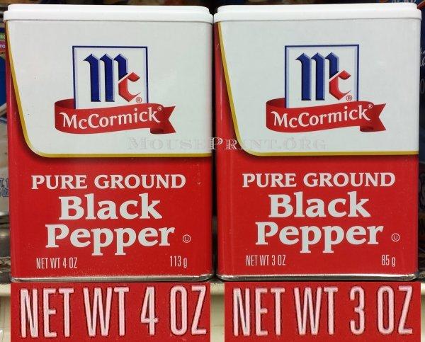 McCormick pepper