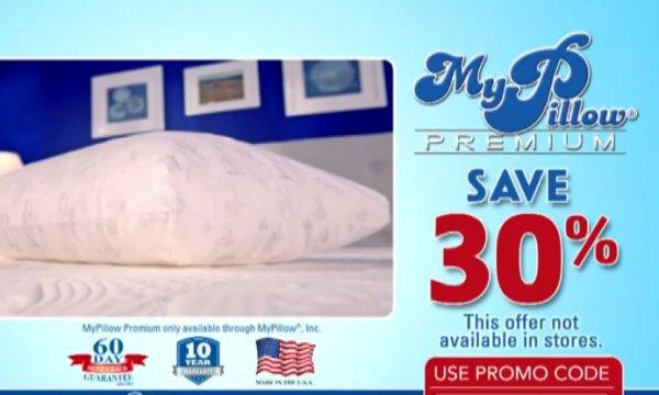 MyPillow 30% off