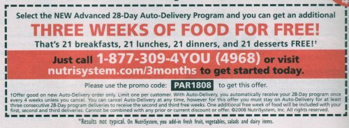 Diet Plan for Weight Loss – Nutrisystem Advanced Diets CORE Plan 28 Days For Faster Weight Loss