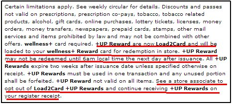 Load2card  Coupon Disclaimer Examples