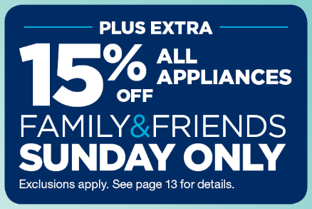 Sears 15% extra off