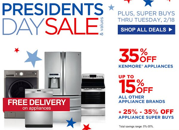 Sears 35% off