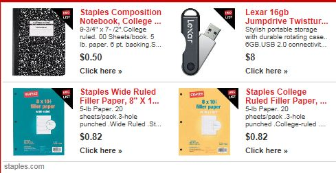 Staples ad
