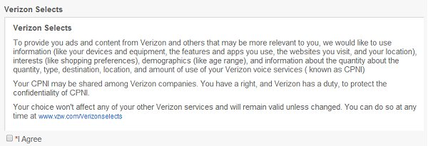 Verizon Selects