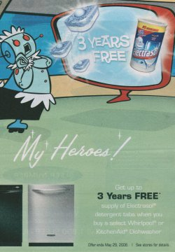 Electrasol free tabs for three years