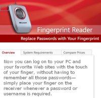 Fingerprint reader small