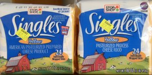 Stop & Shop Cheese Singles S