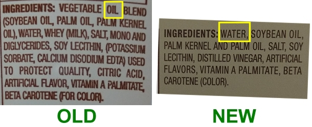 Aldi margarine ingredients