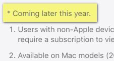 Apple death coming soon