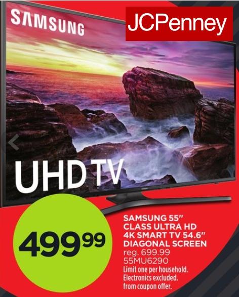 J.C. Penney Samsung TV