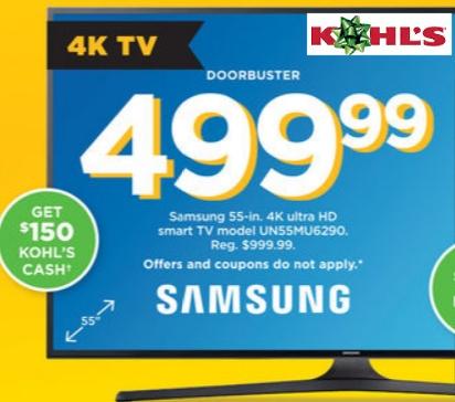 Kohl's TV 999-499