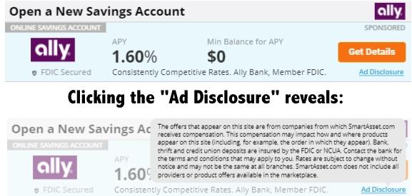 Ally ad