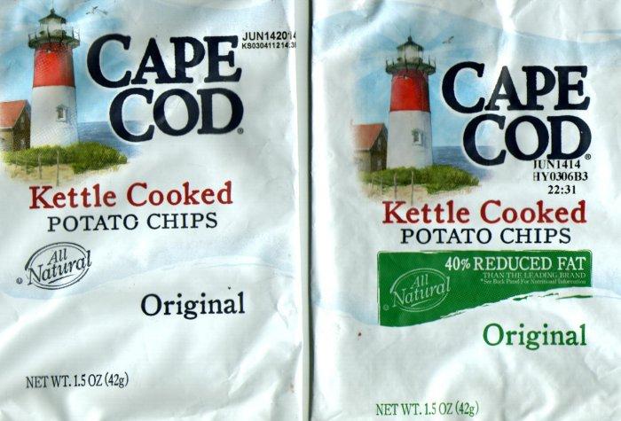 Cape Cod Potato Chips: 40% Reduced Fat?