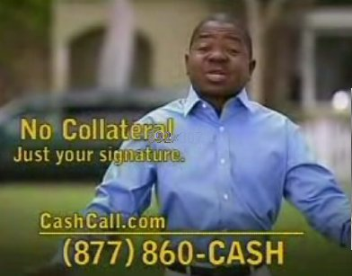 cash  call commercial