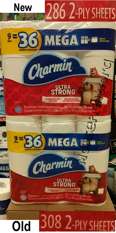 Charmin downsized
