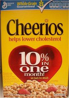 Cheerios Helps Lower Cholesterol 4 No Make That 10 Do I Hear 20