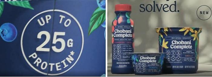 Chobani Complete claim