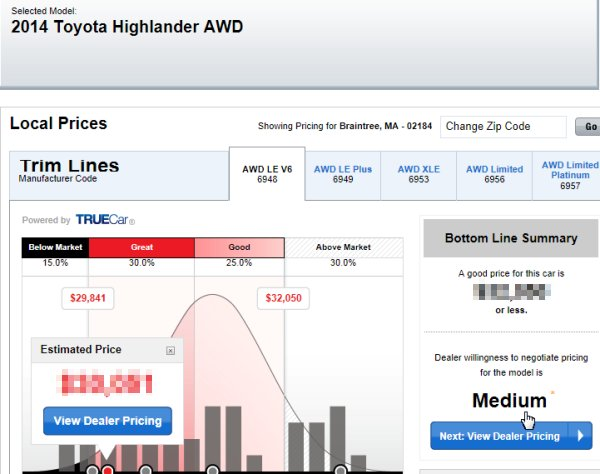 car pricing 1