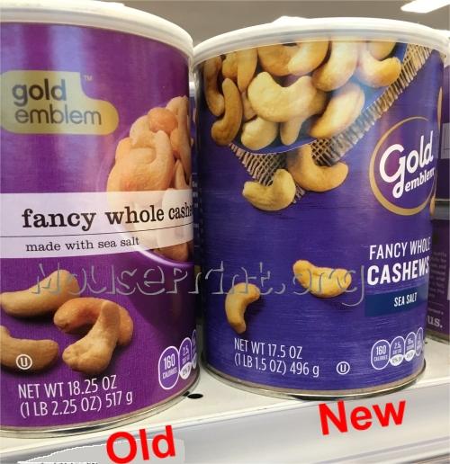 CVS whole cashews