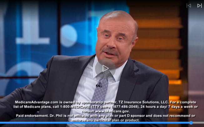Dr. Phil disclaimer