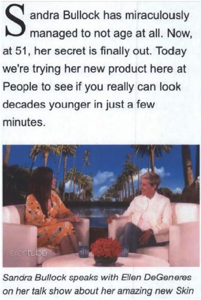 Ellen and Sandra Bullock