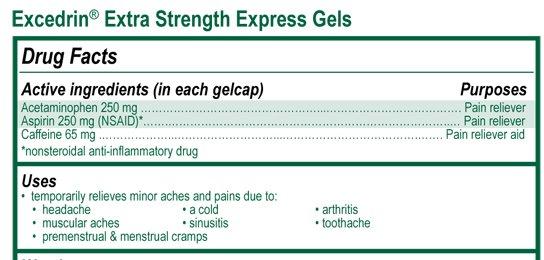 Excedrin Extra Strength