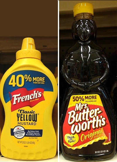 French's Mustard - Mrs. Butterworth's
