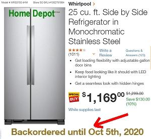 Home Depot - Whirlpool