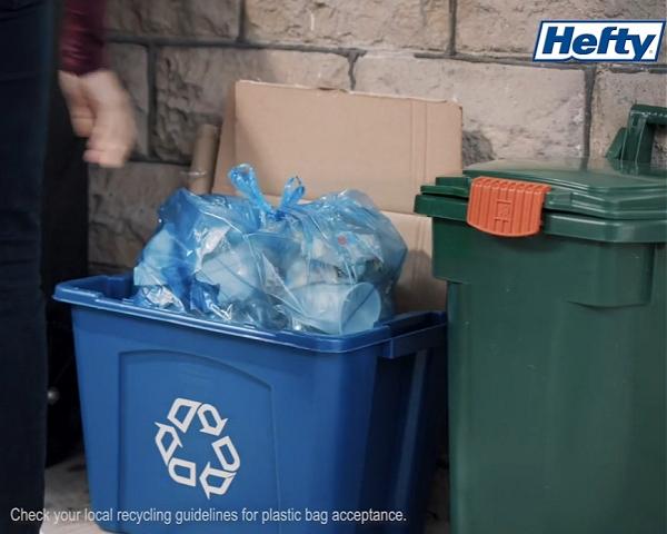 Hefty recycling
