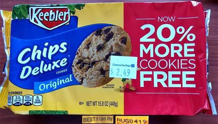 Keebler Chips Deluxe bonus pack