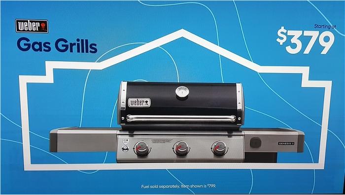 Lowe's Weber grill