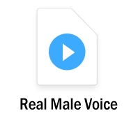 real male voice