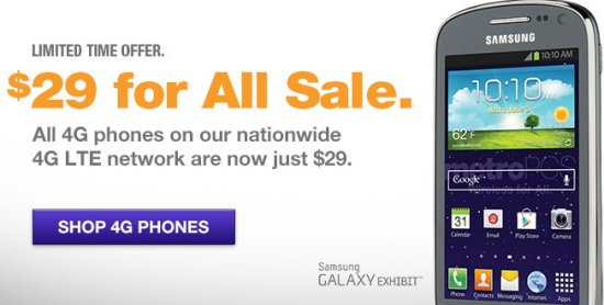 Metropcs All 4g Phones Only 29