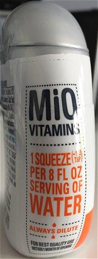 Mio side label