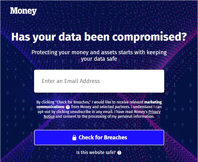 Money- check data