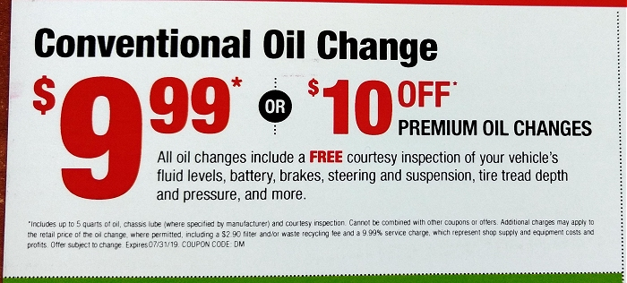 Monro Oil Change Coupon >> This Advertised 9 99 Oil Change Actually Costs 70 More