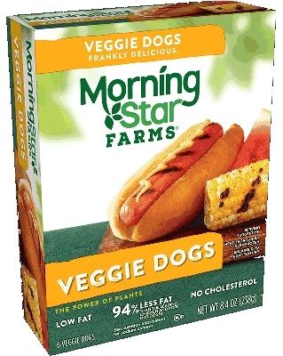 MorningStar hot dogs