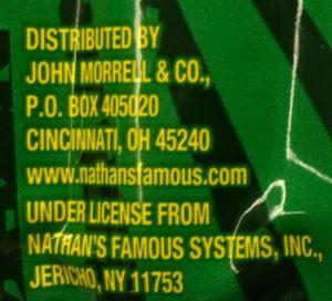 Nathan's distributor