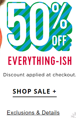 "Old Navy ""everything-ish"""